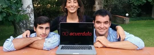 Beatriz Carretie Jorge Carretie y Juan Carlos Fdez Incera