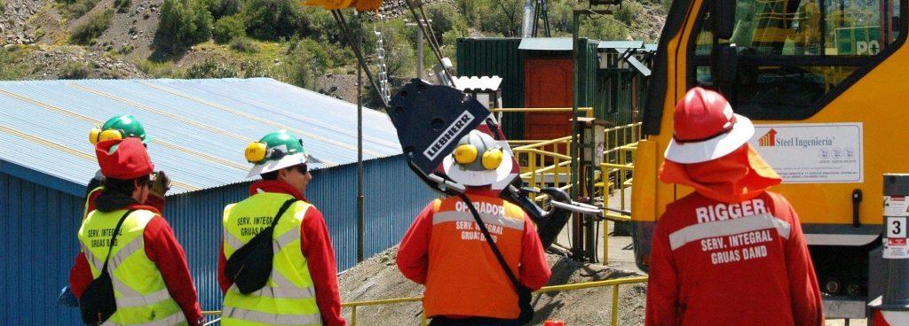 Seguridad de Obreros en chile