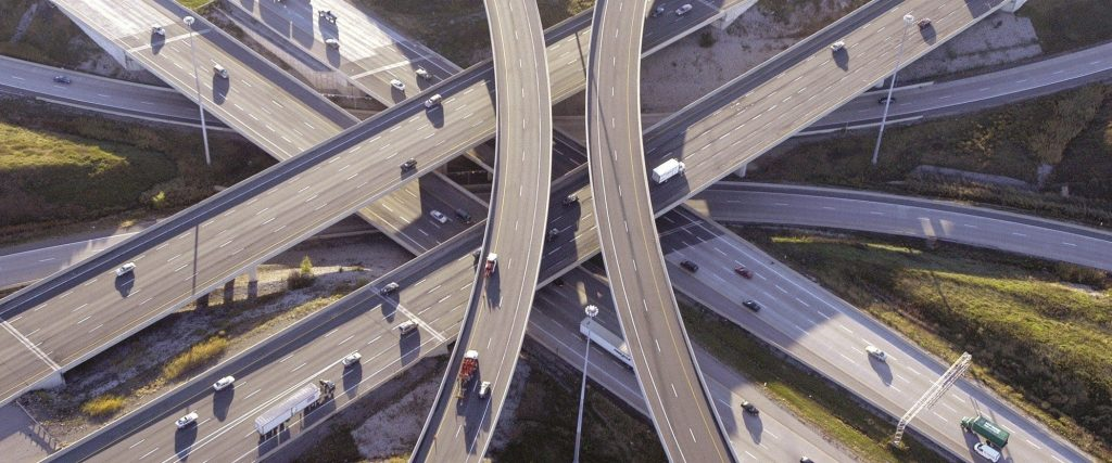 The ETR 407 Highway in Canada