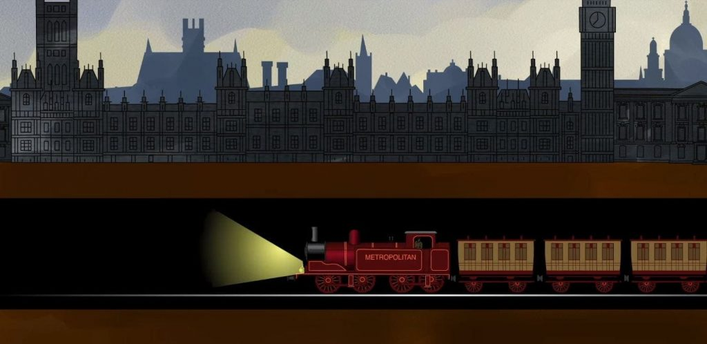 the london underground then and now