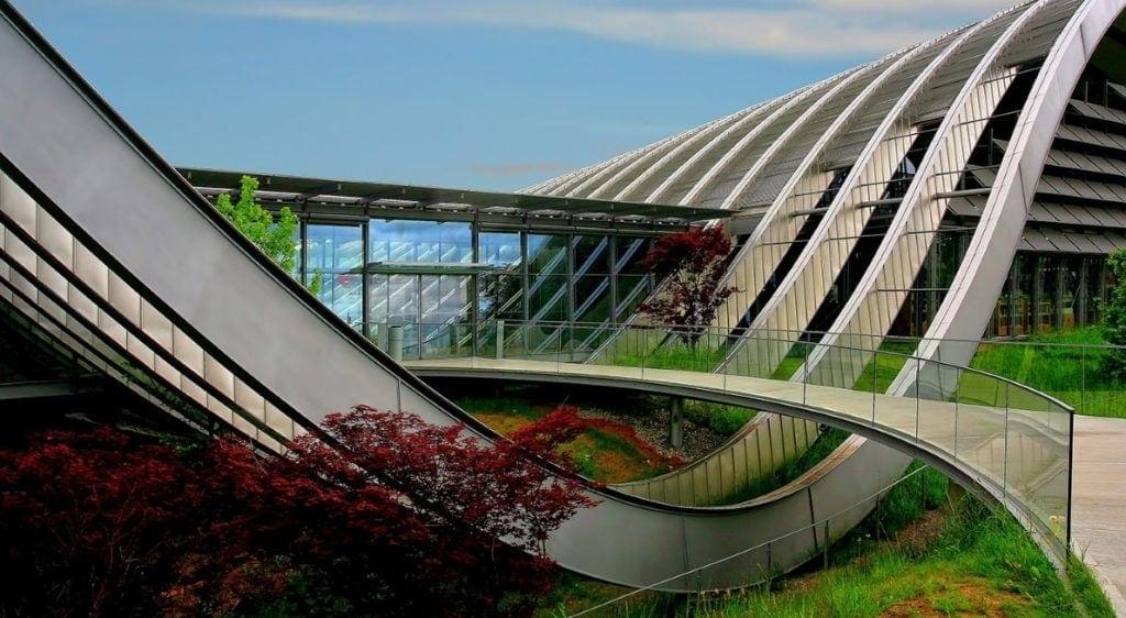 science fiction architecture