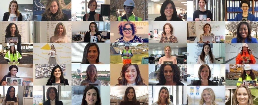 Mujeres de Ferrovial dia de la mujer