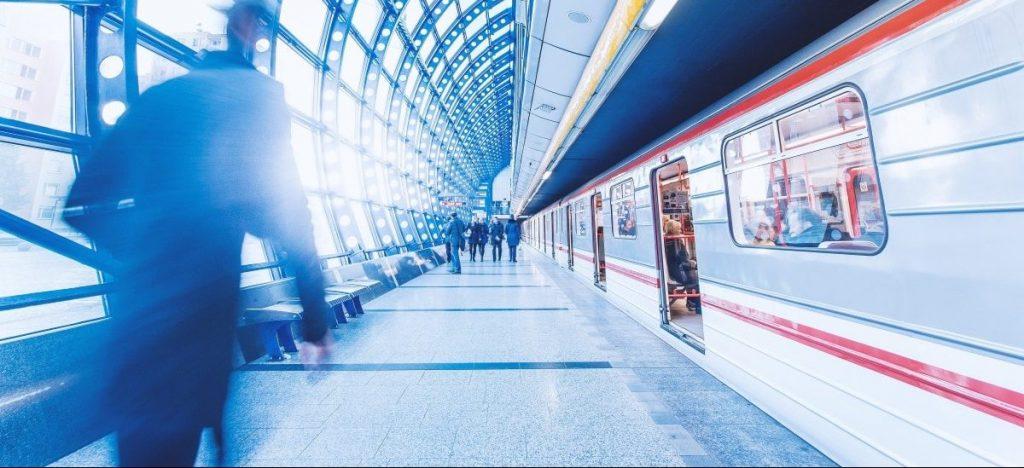 aceras estacion metro