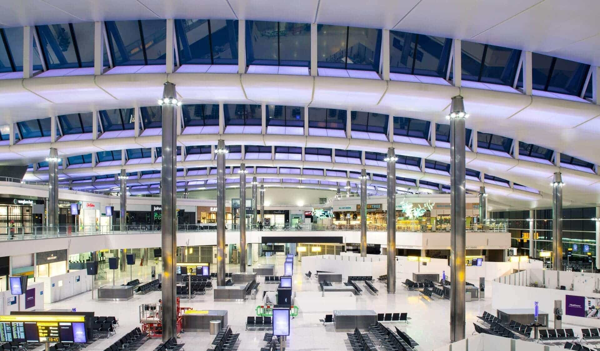 terminal 2 de Heathrow