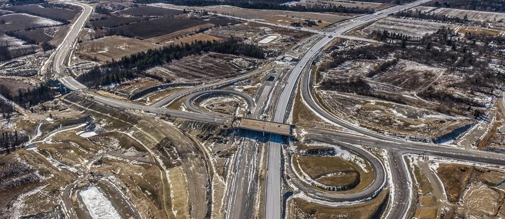 407 ETR highway East Toronto Canada