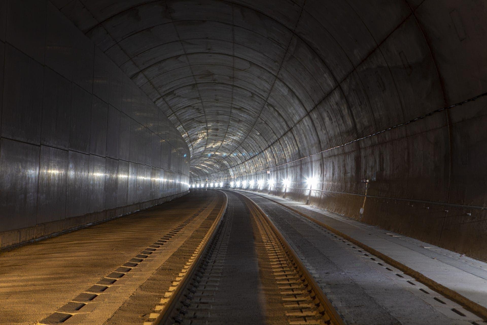 Rail Tunnel Galicia