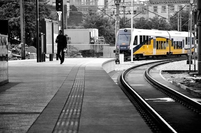 Ferrovial Agroman Budimex railway station Wroclaw