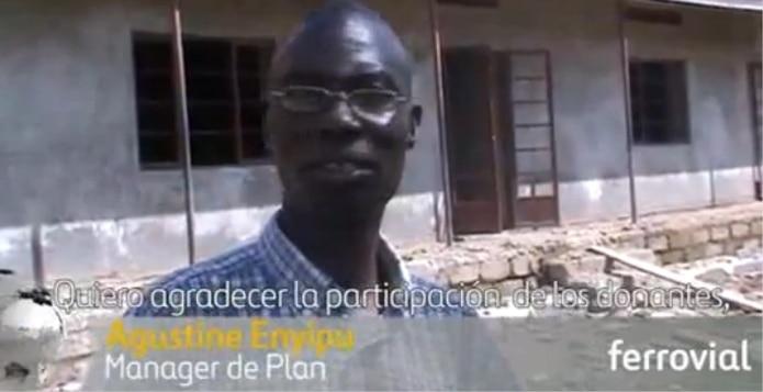 Ferrovial colabora con Plan España en la rehabilitación de una escuela en Uganda