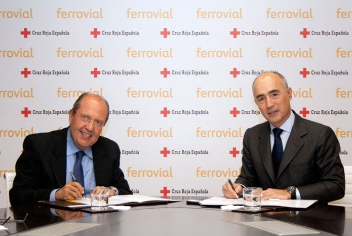 Firma renovación de los centros de distribución de alimentos de Cruz Roja Española