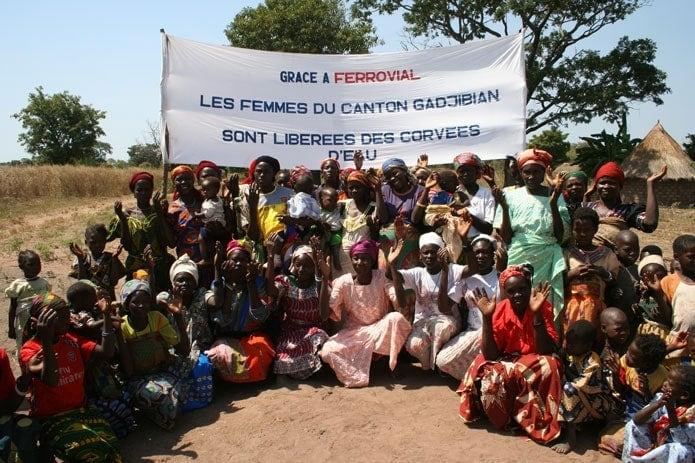 Abastecimientode agua para la población rural en Chad