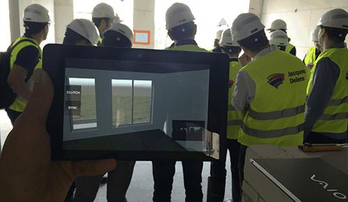 realidad aumentada construccion edificios