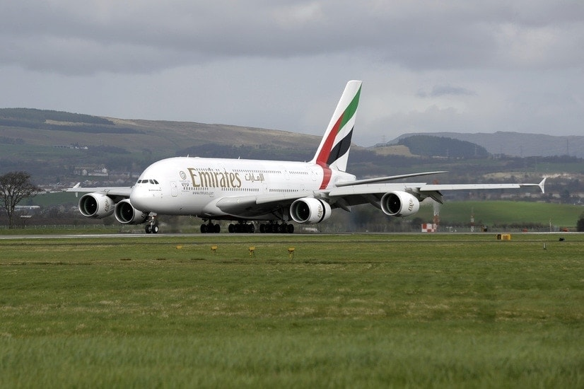 Emirates Glasgow Airport