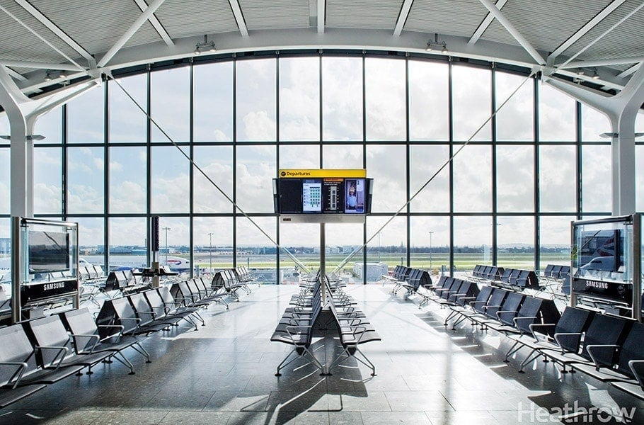 Heathrow Airport reduce carbon emissions