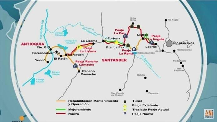 Autopista Bucaramanga Barrancabermeja
