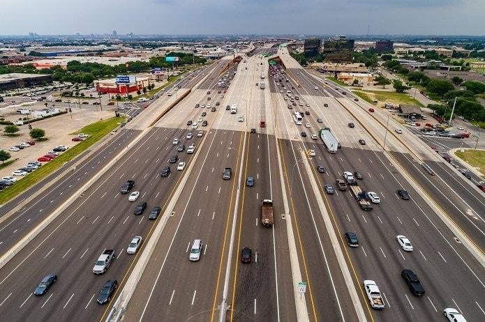 Autopistas, Estados Unidos, Texas, LBJ