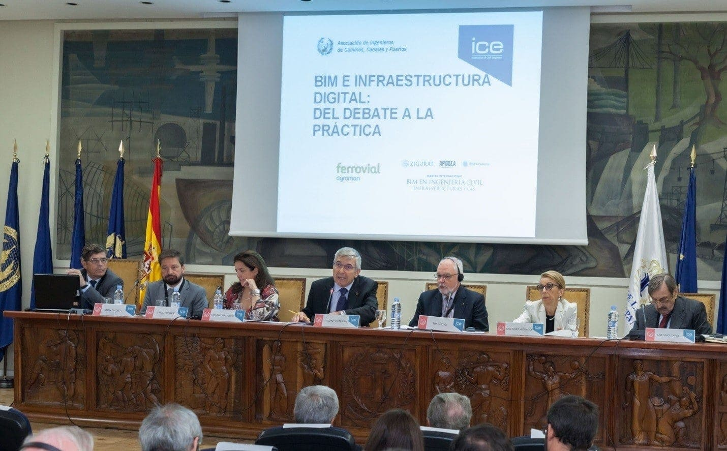 evento bim y digitalización en construcción
