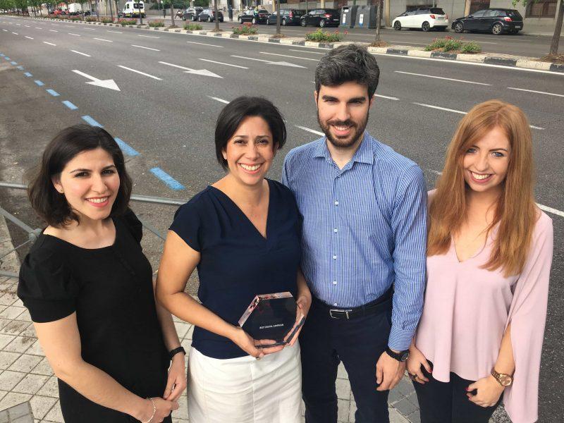 campaña en instagram premio - best digital campaign