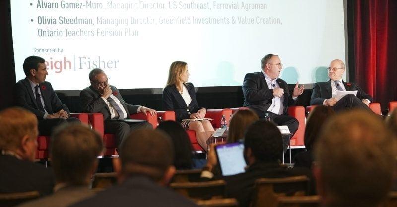 Ferrovial Agroman y Cintra asistieron a la 25ª congreso anual del CCPPP