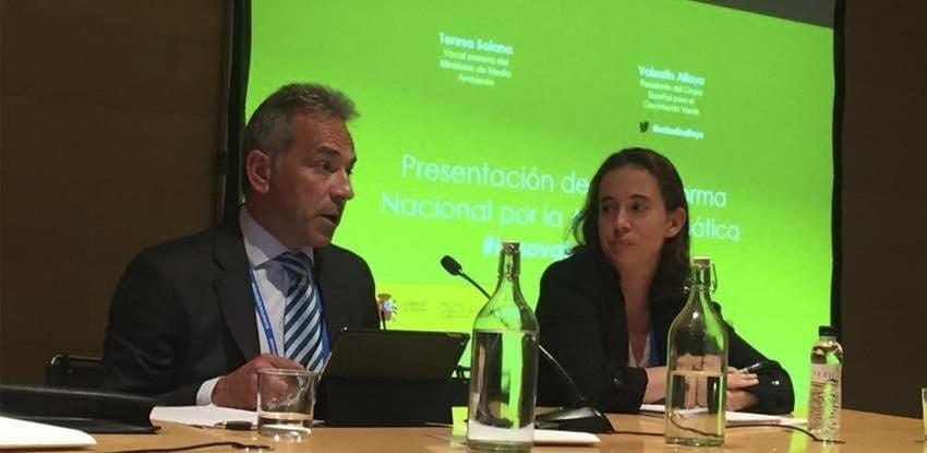 climate change green growth spain platform