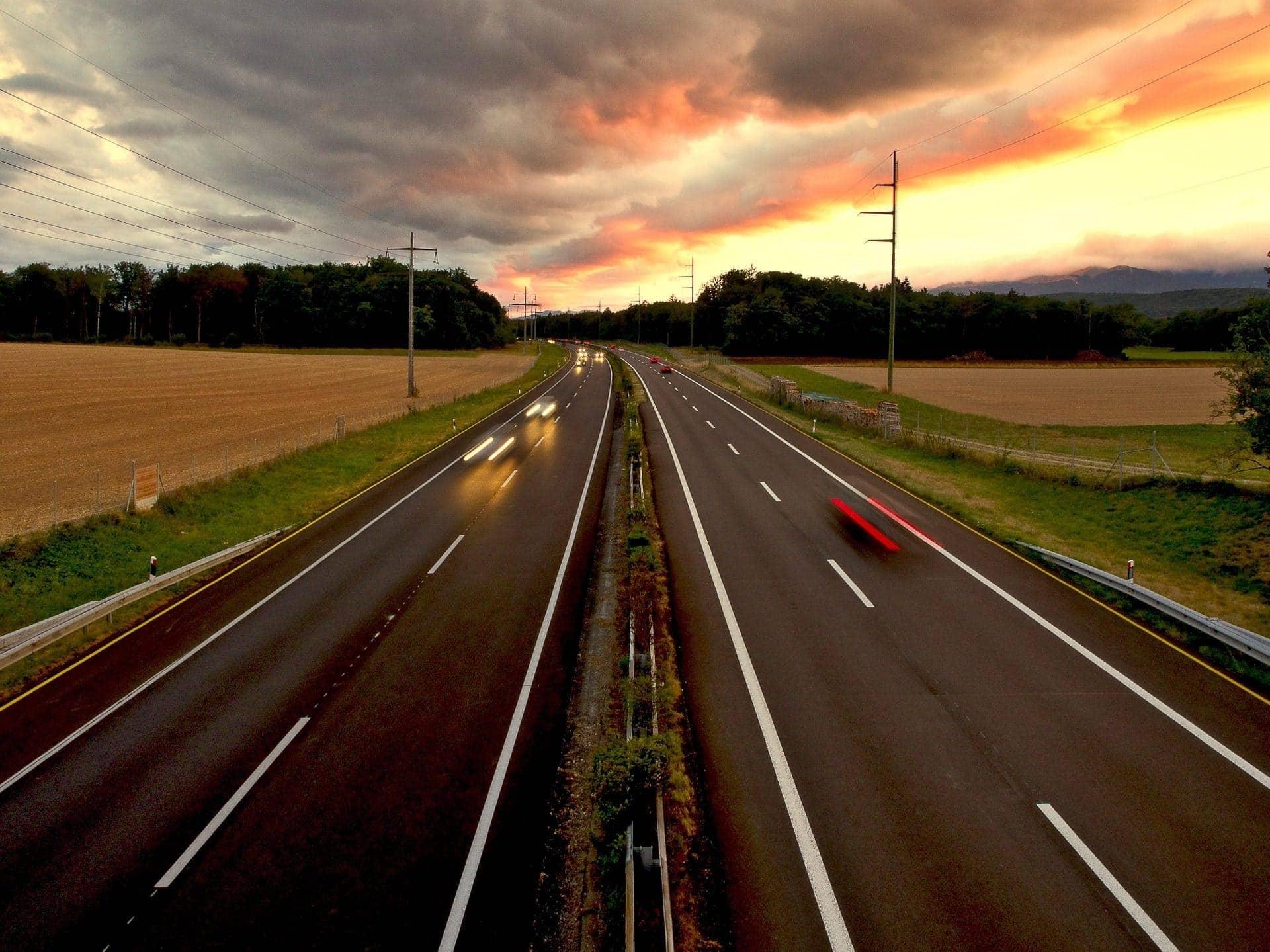 construcción autopista escocia a96