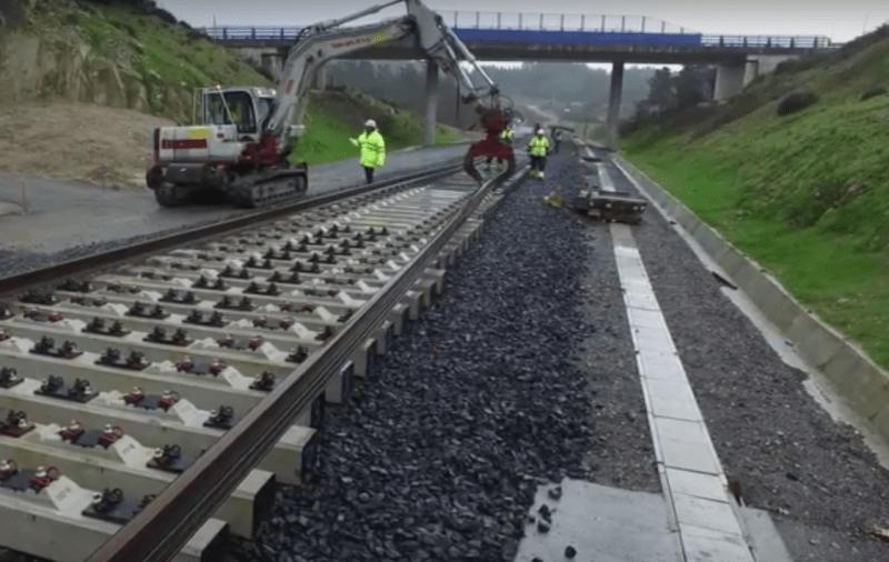 dinatrans vías de alta velocidad
