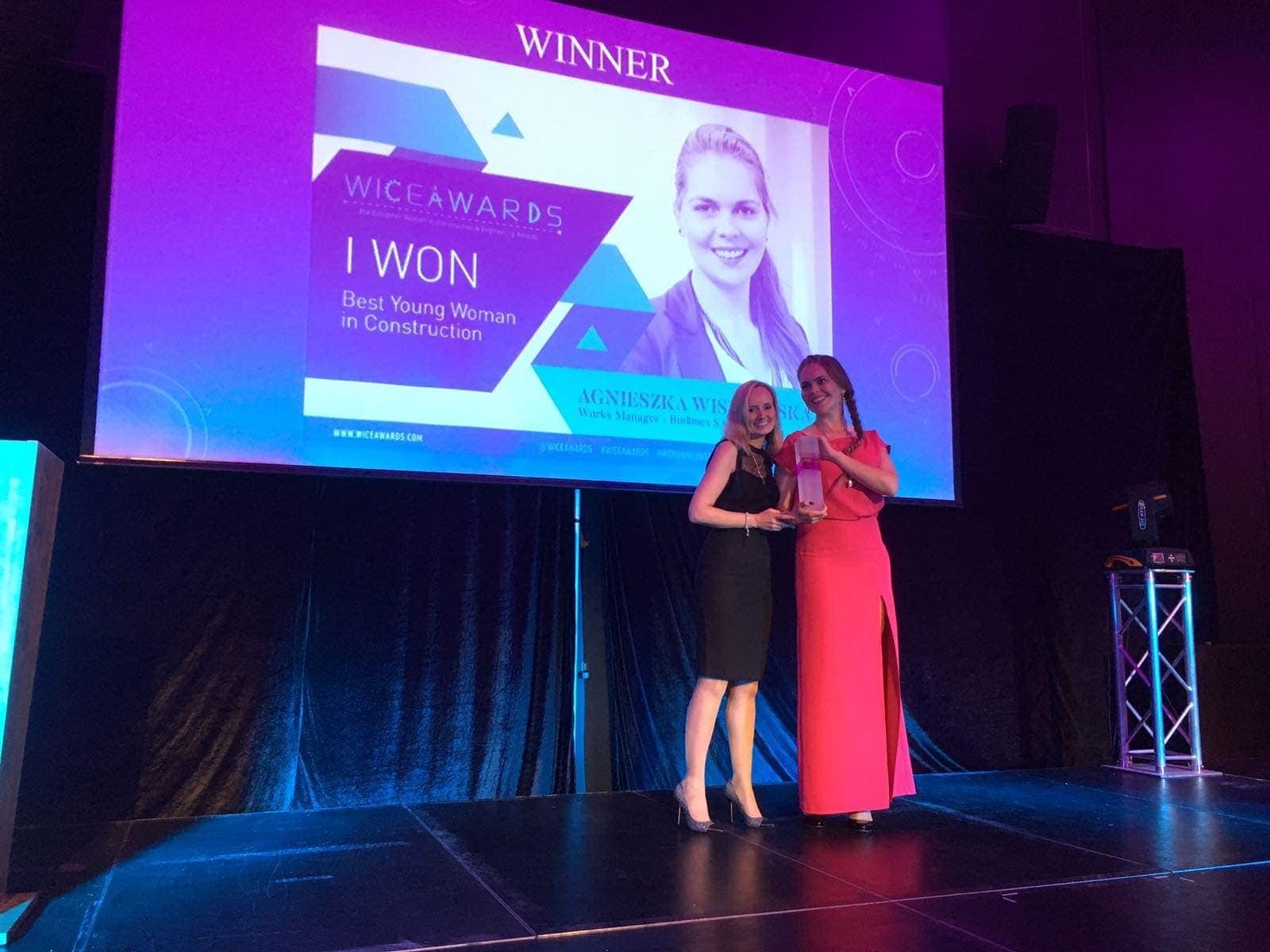 ingenieras mujeres en los premios wice 2017