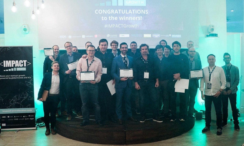 Los startups del programa impact