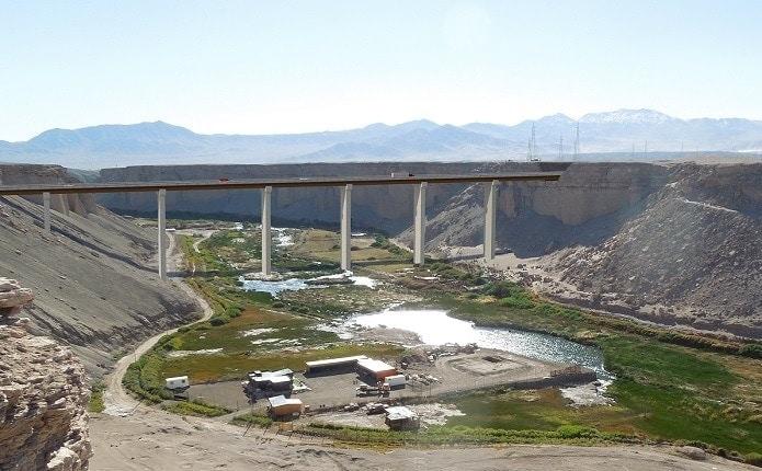 Construction Rutas del Loa, Chile