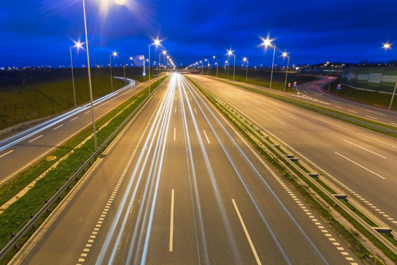 Road in Gdansk Poland
