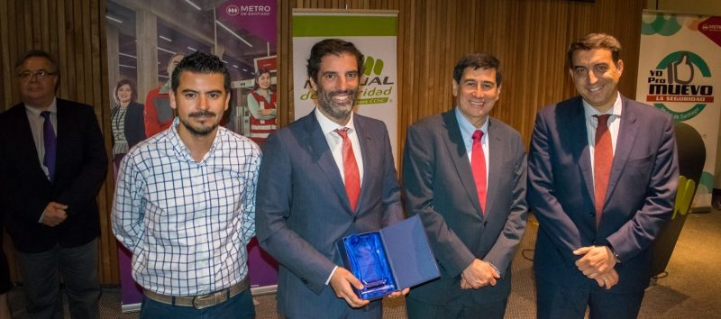 Ferrovial Agroman team in Chile after winning occupational risk prevention award