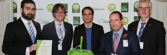 Ferrovial Agroman gana el premio de Green Apple