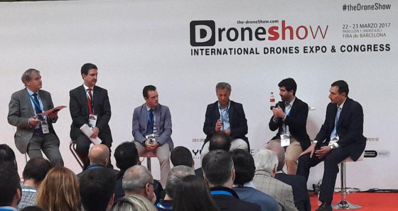 Ferrovial participates in the drone show barcelona