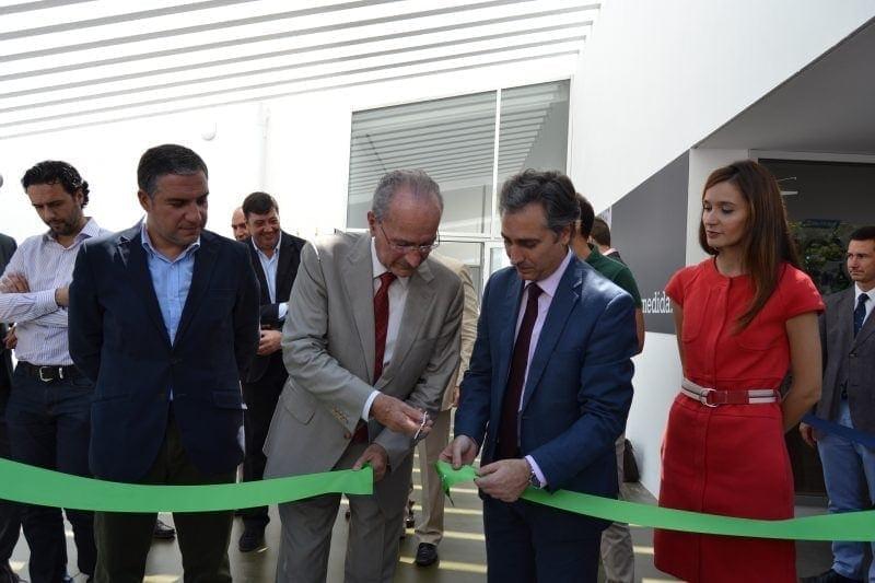 Ferrovial noticias Francisco de la Torre inaugura centro deportivo Inacua en Malaga
