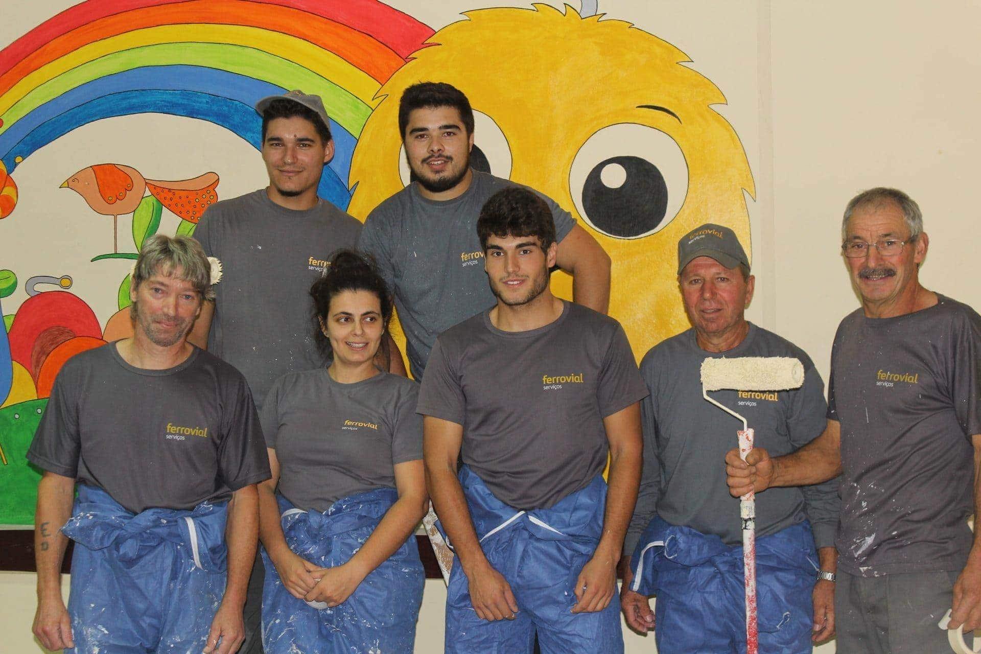 Ferrovial Serviços apoya servicios de solidaridad