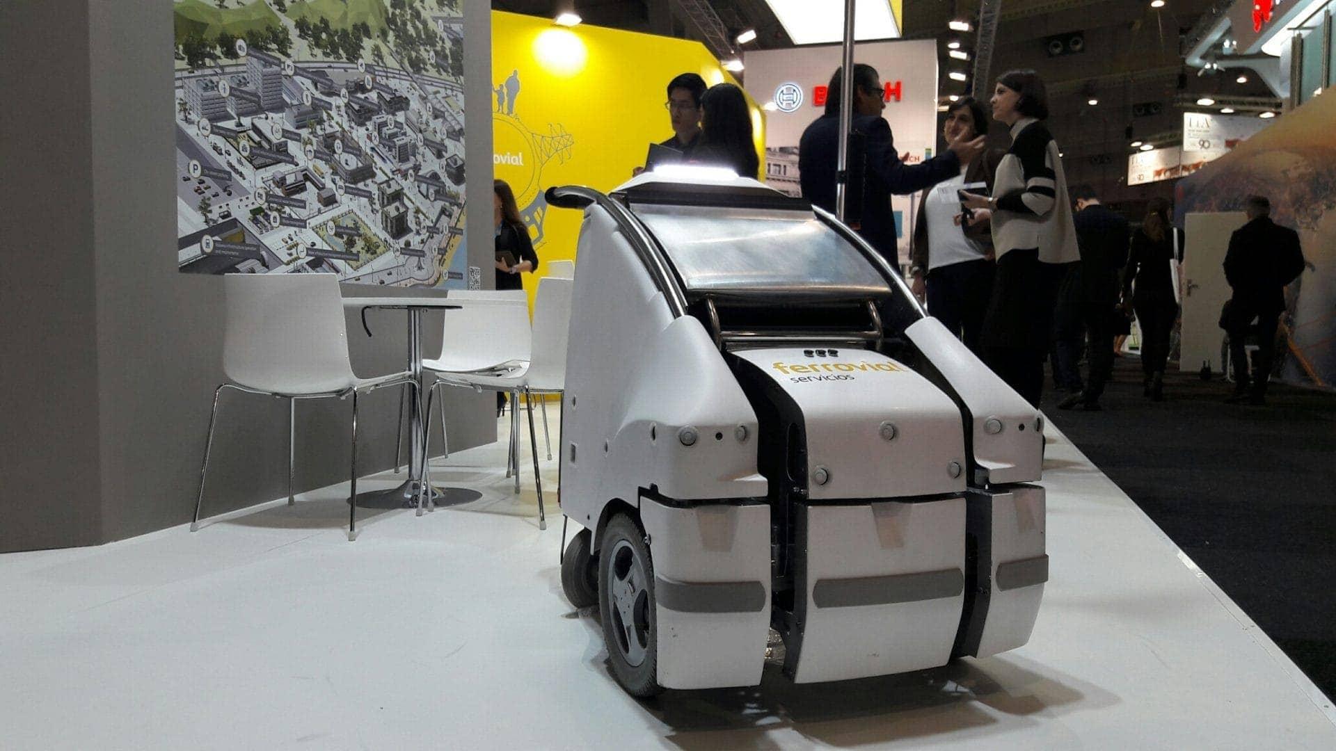 Global Robot Expo 2017 Ferrovial reto Madrid