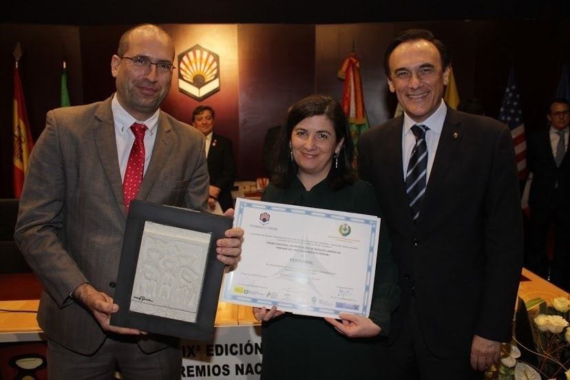 ines cruces ferrovial health and safety awards