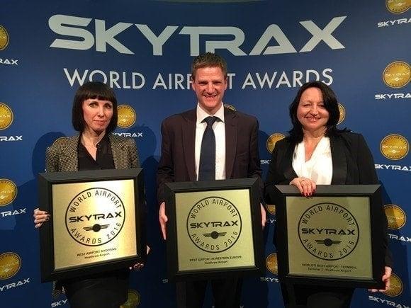 Heathrow Airport receives Skytrax Award