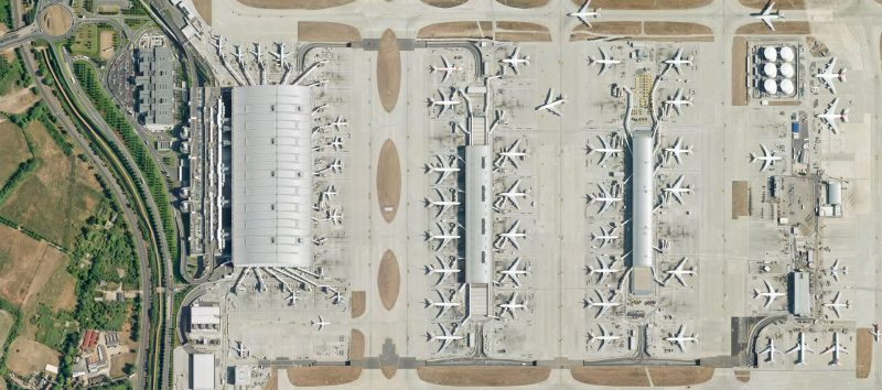 Heathrow Airport Terminal Five Celebrated its 10th Anniversary this year
