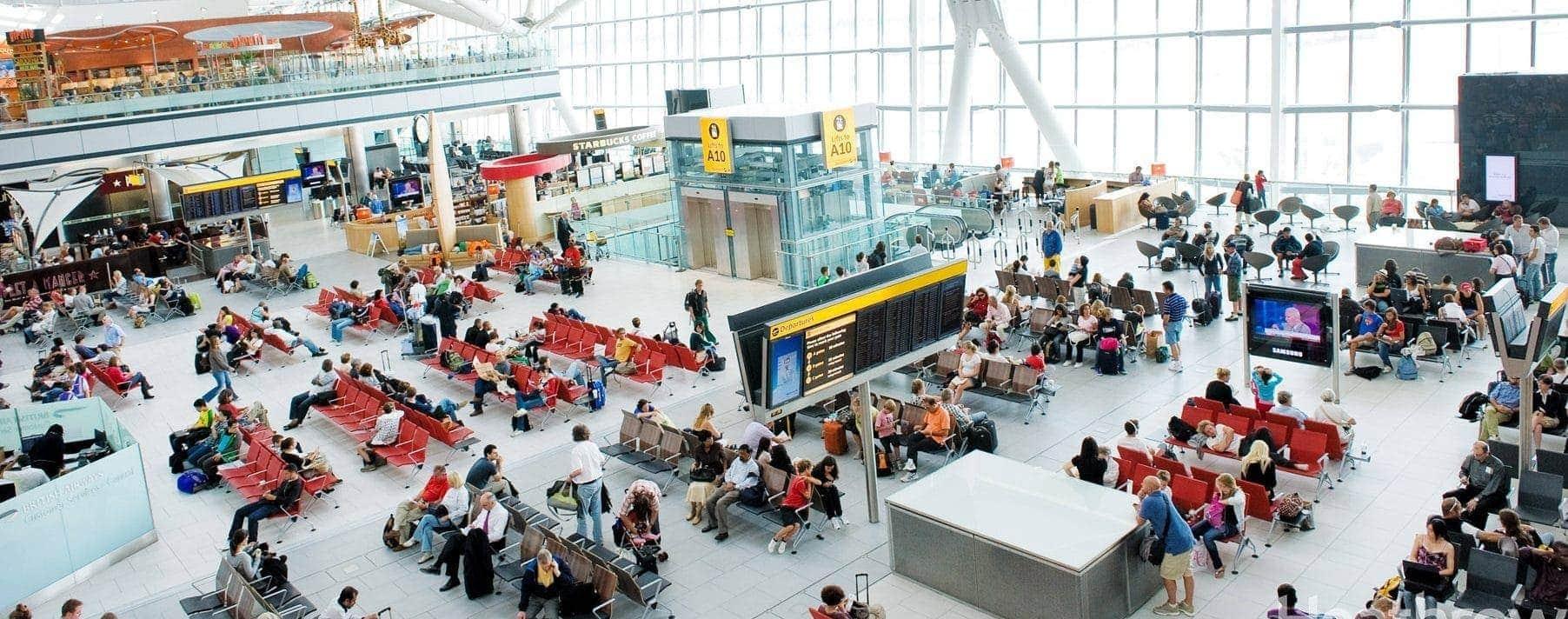 Terminal 5a Heathrow Londres