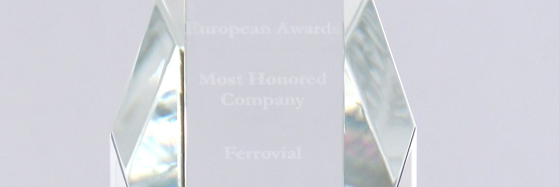 Institutional Investor awards ferrovial