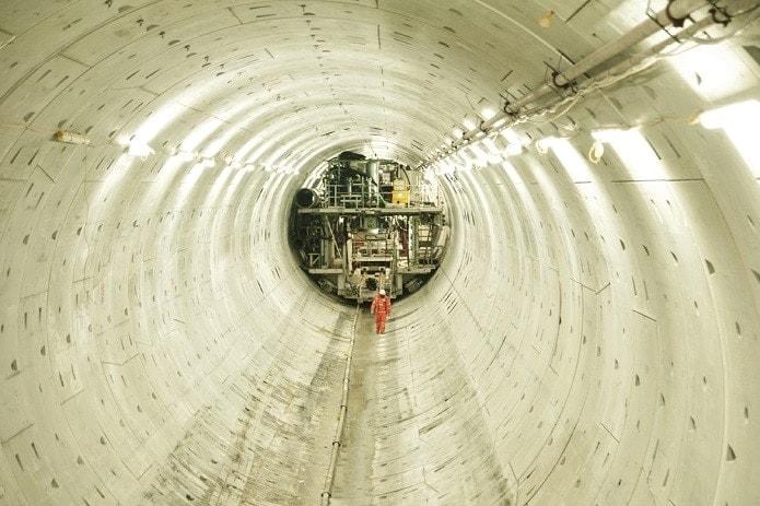 Lee Tunnel sistema de alcantarillado de Londres
