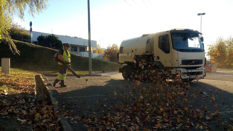 limpieza urbana ayuntamiento arouca en portugal