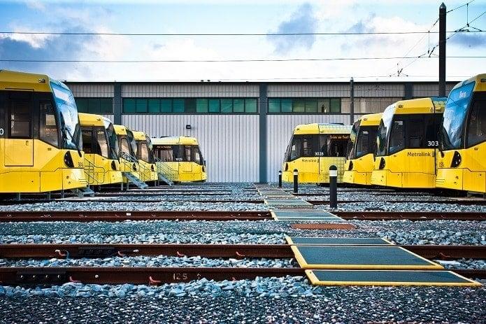 Manchester Metrolink Depot