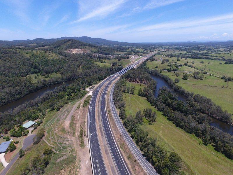 La autopista Australiana Pacific Highway es un proyecto BIM