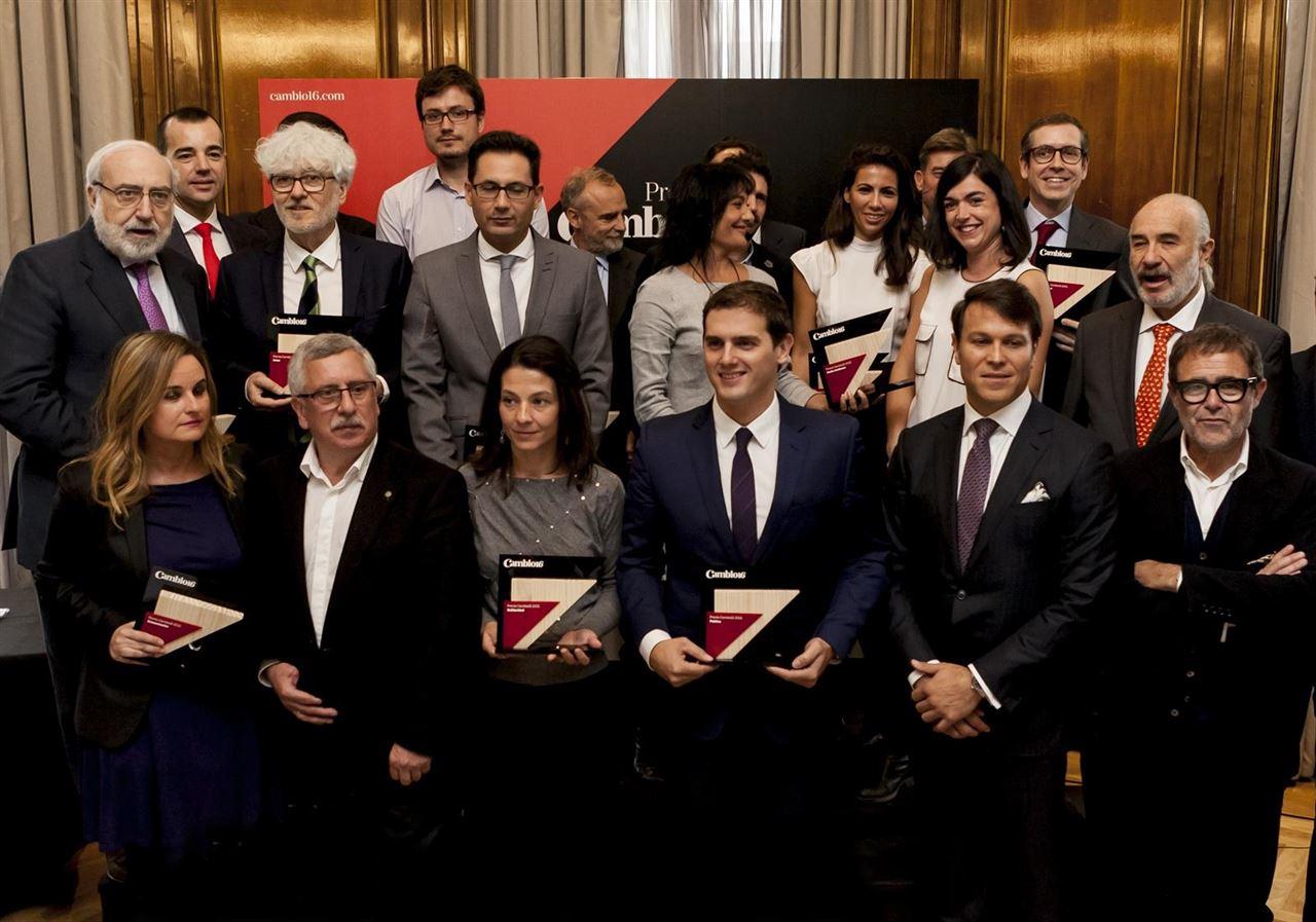 Premios de la revista Cambio16