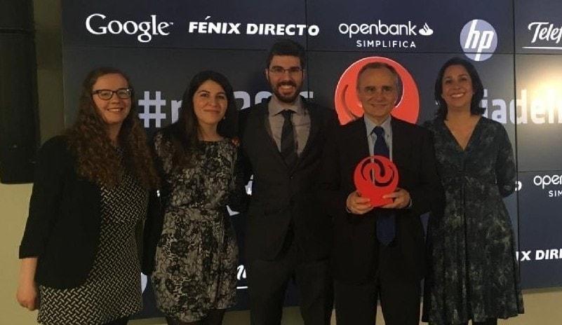 Premio Día de Internet, Ferrovial Instagram