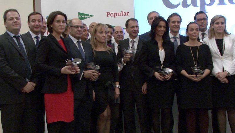Ferrovial galardonada en los Premio Capital 2015