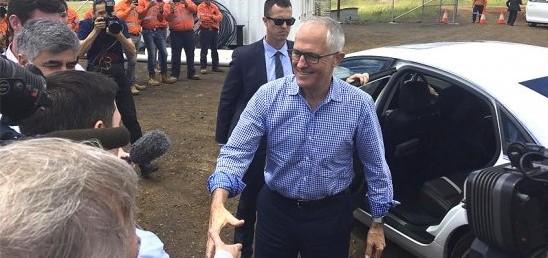 primer ministro australia autopista toowoomba