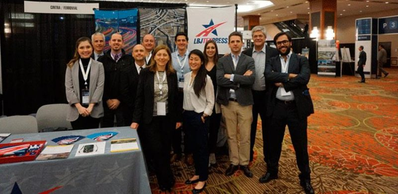 Ferrovial Agroman and Cintra at the P3 conference in Texas