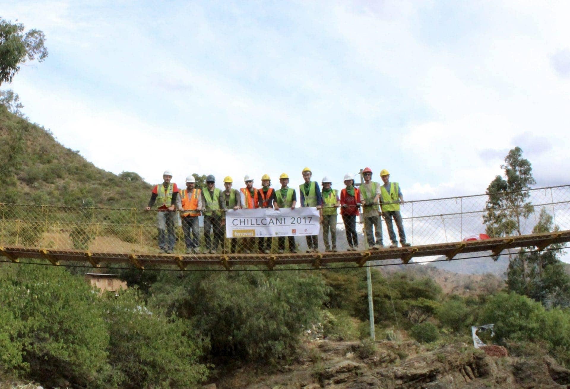 puente colgante chillcani bolivia